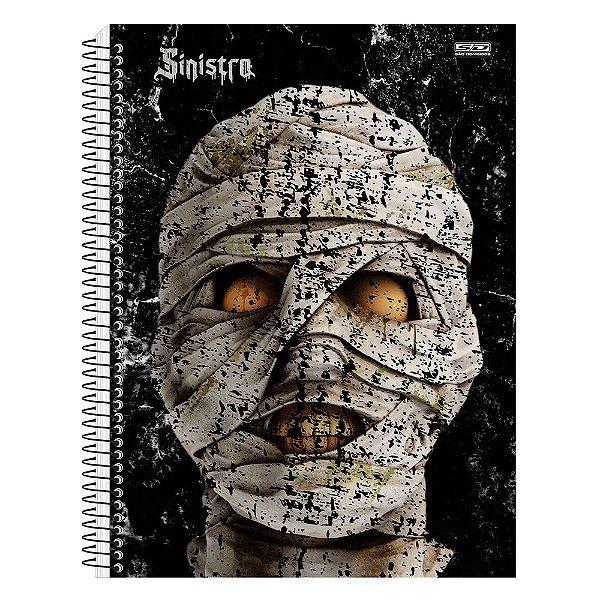 Caderno Sinistro - Múmia - 15 Matérias - São Domingos