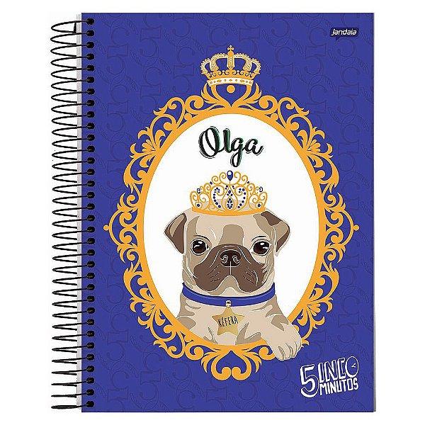 Caderno Kéfera 5 Minutos - Olga - 10 matérias