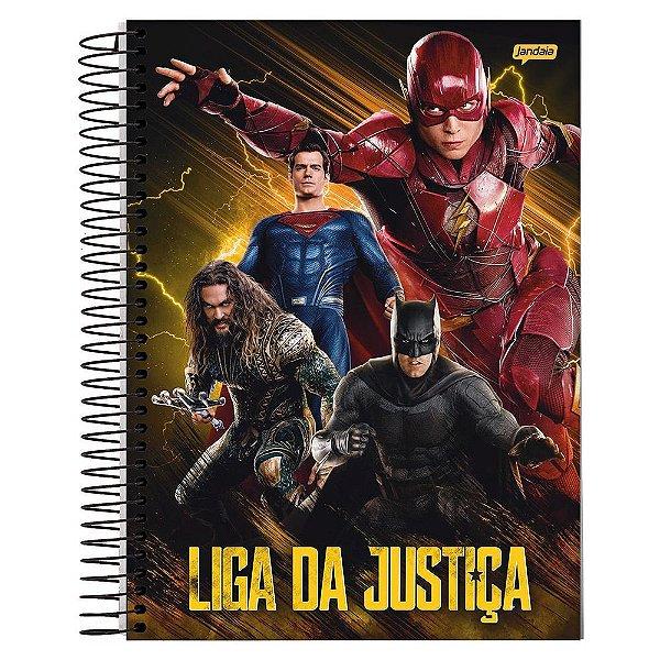 Caderno Liga da Justiça - Flash - 1 matéria - Jandaia
