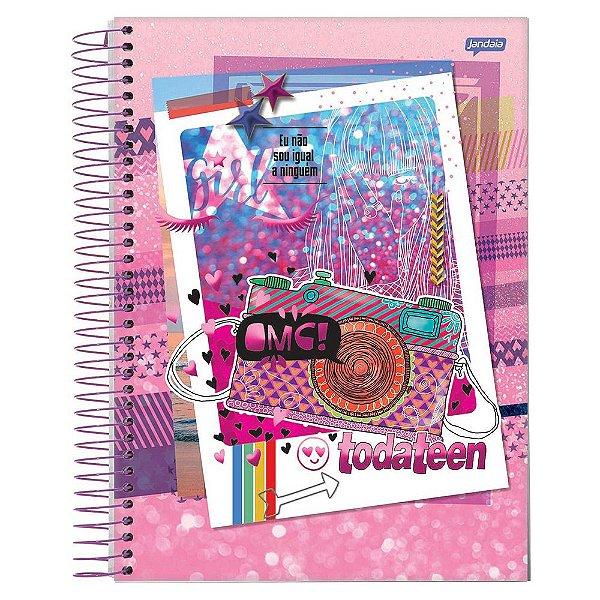 Caderno Toda Teen - Fotos - 10 matérias - Jandaia