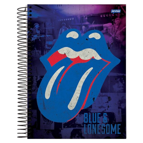 Caderno The Rolling Stones Blue & Lonesome - 10 matérias