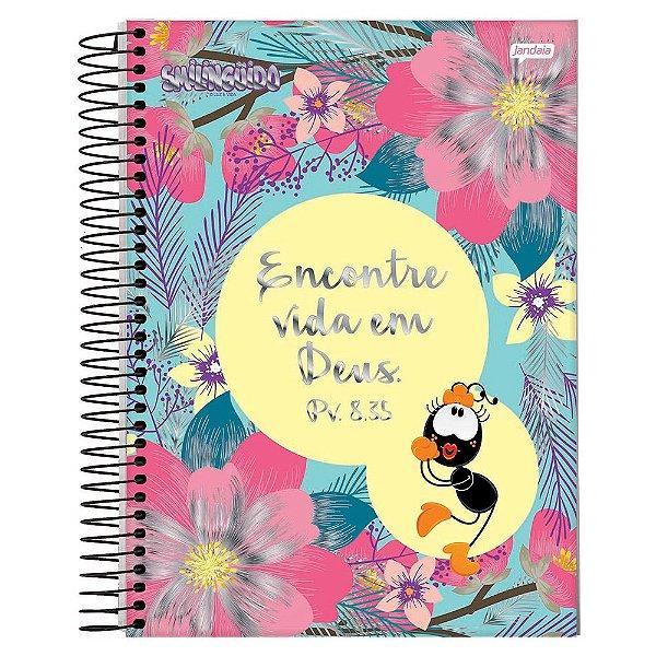 Caderno Smilingüido - Encontre vida em Deus - 1 matéria