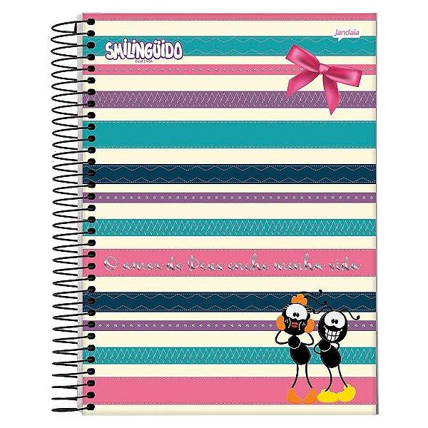 Caderno Smilingüido - O amor de Deus - 1 matéria - Jandaia