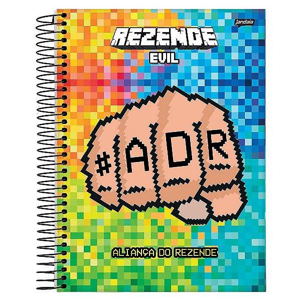 Caderno Rezende Evil - Mão - 1 Matéria - Jandaia