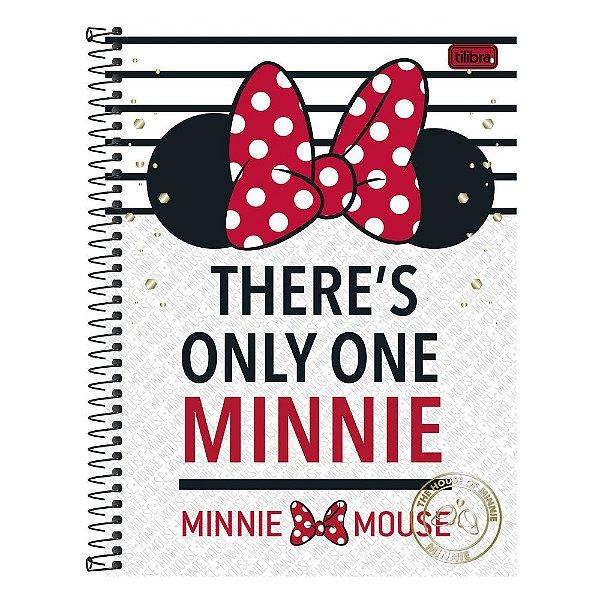 Caderno Minnie Only One - 10 matérias - Tilibra