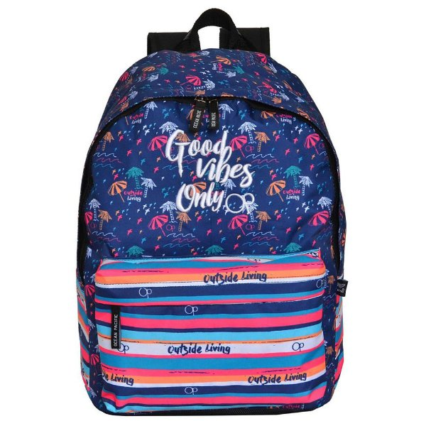 Mochila Ocean Pacific - Good Vibes Only - Santino