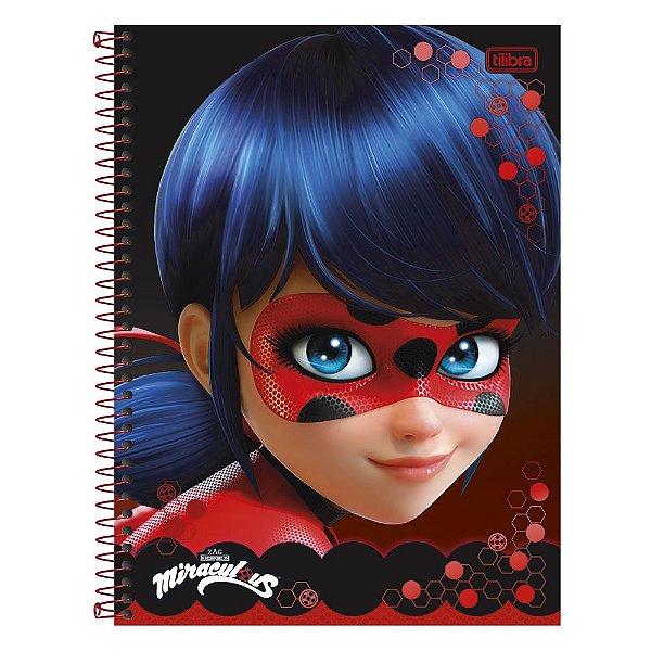 Caderno Miraculous Ladybug Perfil - 1 matéria