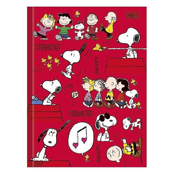 Caderno Brochura Snoopy - Peanuts - 96 Folhas - Tilibra