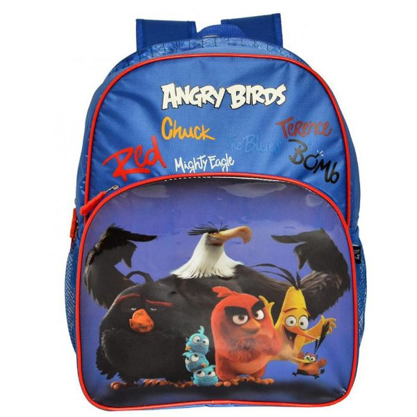 Mochila Angry Birds Azul - Santino