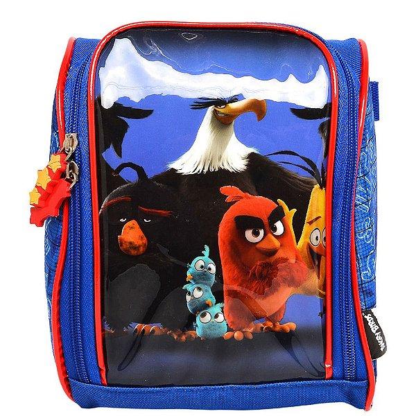 Lancheira Angry Birds - Azul - Santino