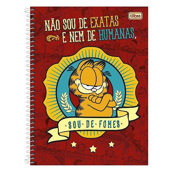 Caderno Garfield - Sou de Fomes - 1 Matéria - Tilibra
