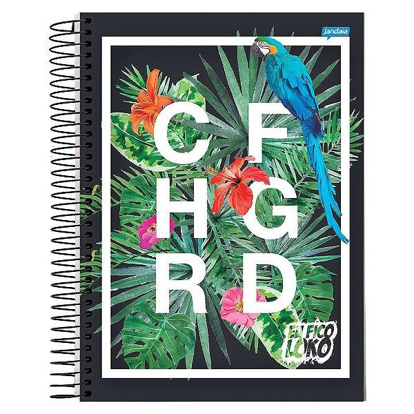 Caderno Eu Fico Loko - Natureza - 10 Matérias - Jandaia