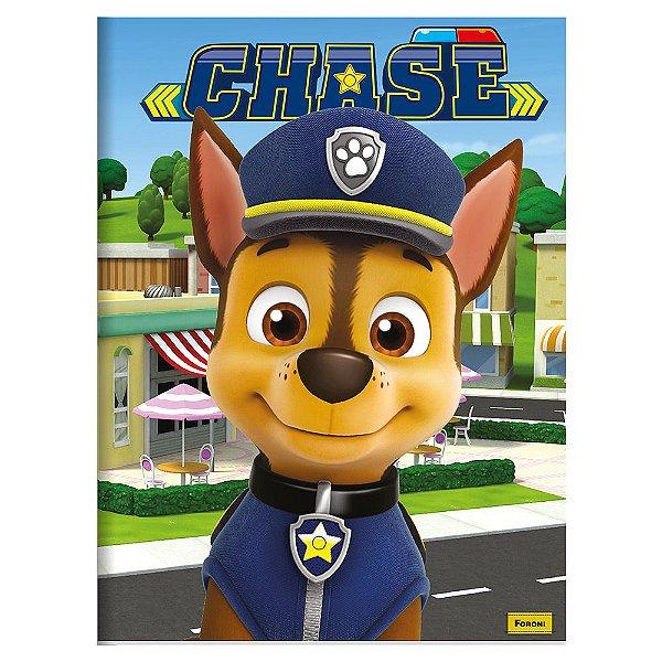 Caderno Brochura Patrulha Canina - Chase - 96 Folhas