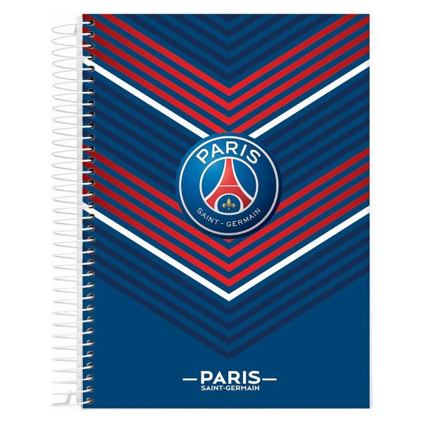Caderno Paris Saint-Germain - Listras - 10 Matérias - Jandaia