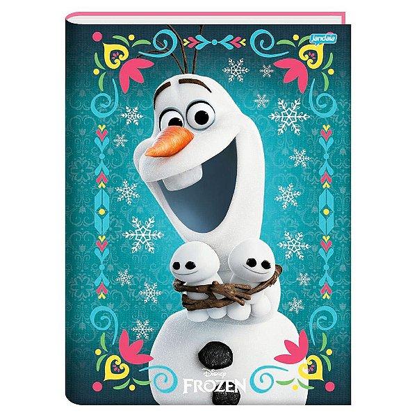 Caderno Brochura Frozen Magic - Olaf - 96 folhas - Jandaia