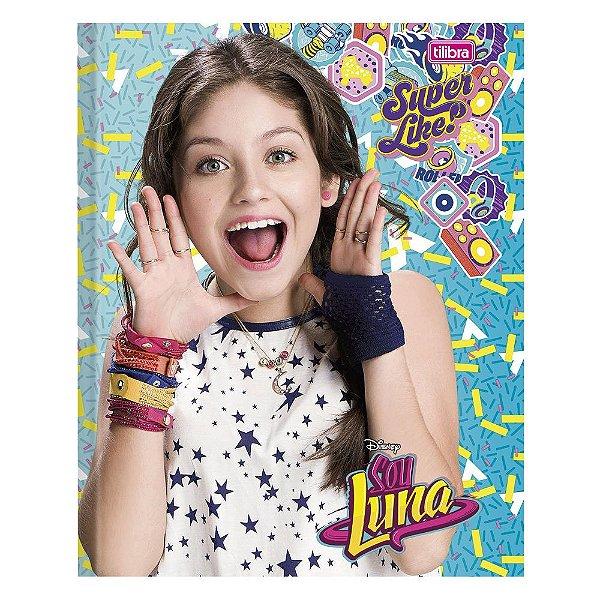 Caderno Brochura  Sou Luna - Super Like - 96 Folhas - Tilibra