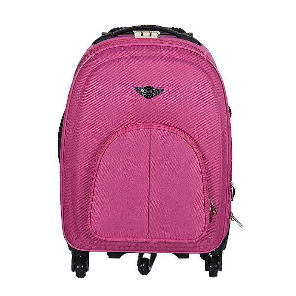 """Mala de Viagem EVA Pequena 20"""" - Pink - Santino"""