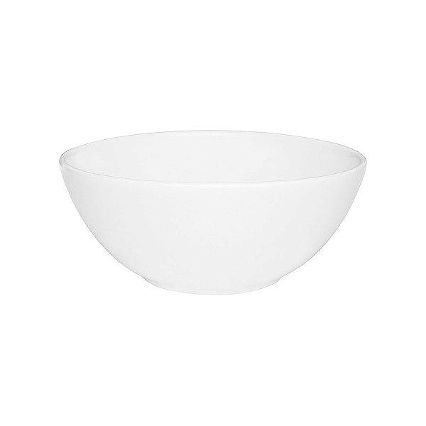 Tigela Redonda em Porcelana 600ml - Branca - Oxford
