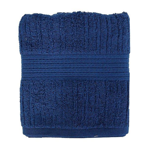 Toalha de Rosto Canelada Fio Penteado - Azul 1645 - Buddemeyer