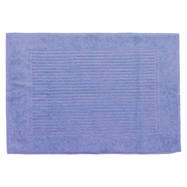 Toalha Piso Para Pés - 48 x 70 cm - Azul 1246 - Buddemeyer