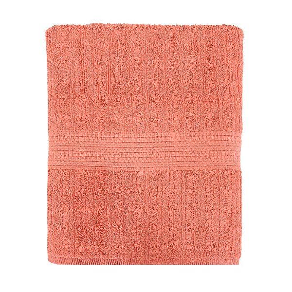 Toalha de Banho Gigante Canelada Fio Penteado - Coral 1052 - Buddemeyer