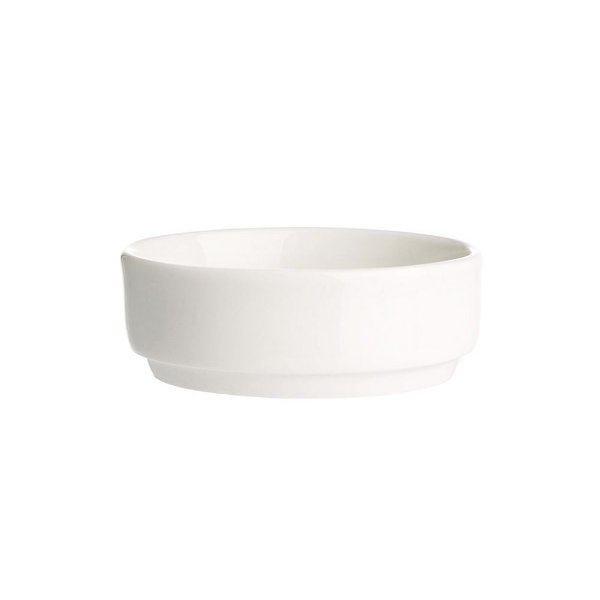 Manteigueira em Porcelana 85ml - Branca - Oxford