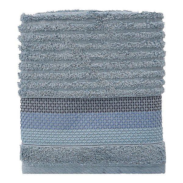 Toalha de Rosto Le Bain Detroit - Azul - Artex