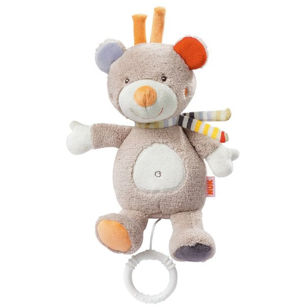 Pelúcia Musical Toy - Ursinho Teddy - Nuk