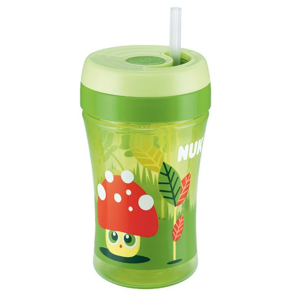 Copo Infantil Fun Cup Easy Learning - Verde - Nuk