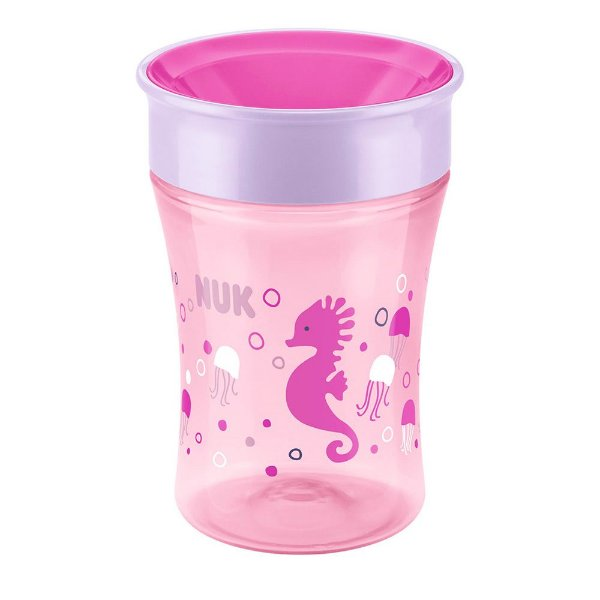 Copo de Transição Magic Cup 230ml - 8+ Meses - Rosa - Nuk