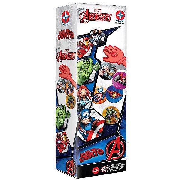 Jogo Tapa Certo Avengers - Estrela