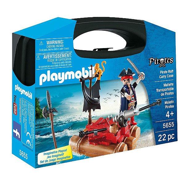 Maleta Pirata - 22 Peças - Playmobil