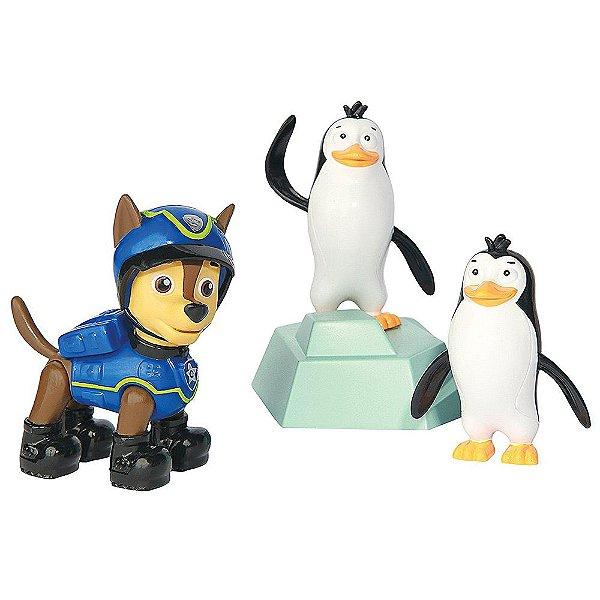 Rescue Set Patrulha Canina - Chase e Pinguins - Sunny