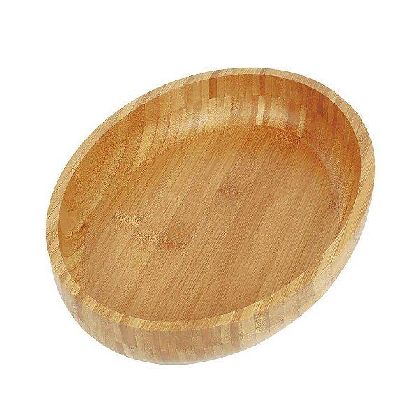 Gamela Oval em Bambu Para Churrasco - Mor
