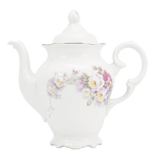 Cafeteira Vitória em Porcelana - 1,15 Litros - Schmidt