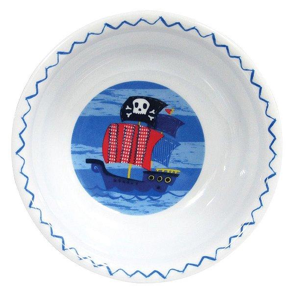 Tigela Infantil Navio Pirata - Girotondo