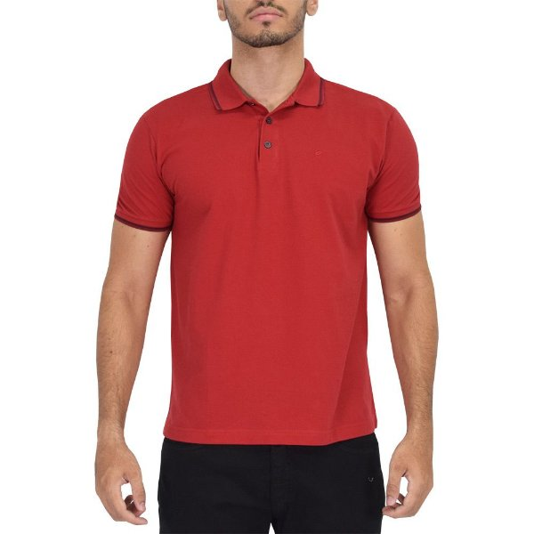 Camisa Polo Básica Vermelha - Ellus
