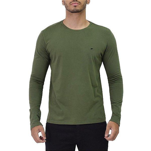 Camiseta Manga Longa Verde - Ellus