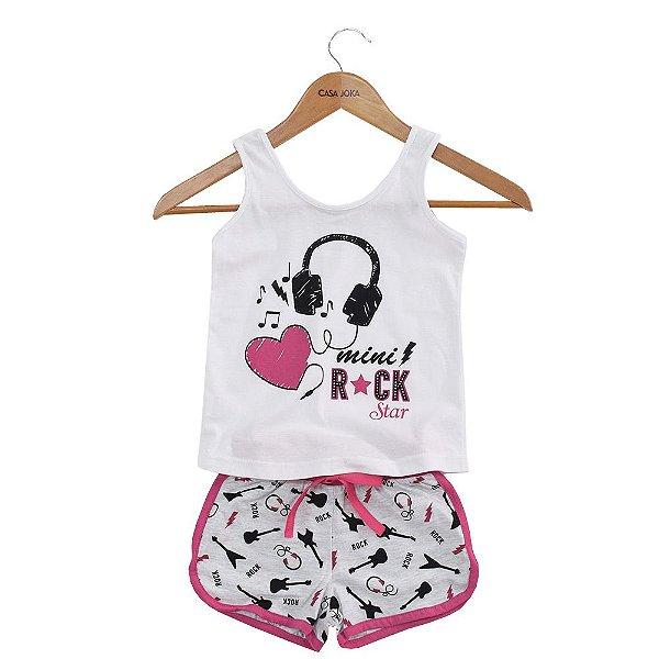 Pijama Infantil Mini Rock Star - Malwee