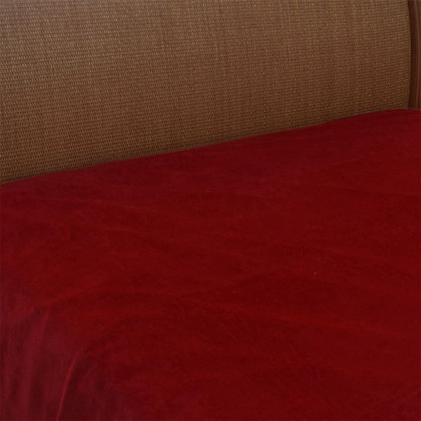 Cobertor Microfibra Queen - Vermelho Escuro - Parahyba
