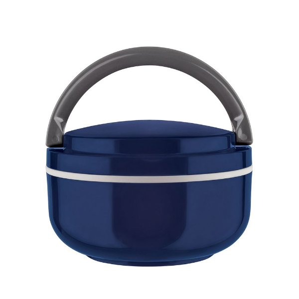 Marmita Lunch Box Microondas - Azul - Euro Design