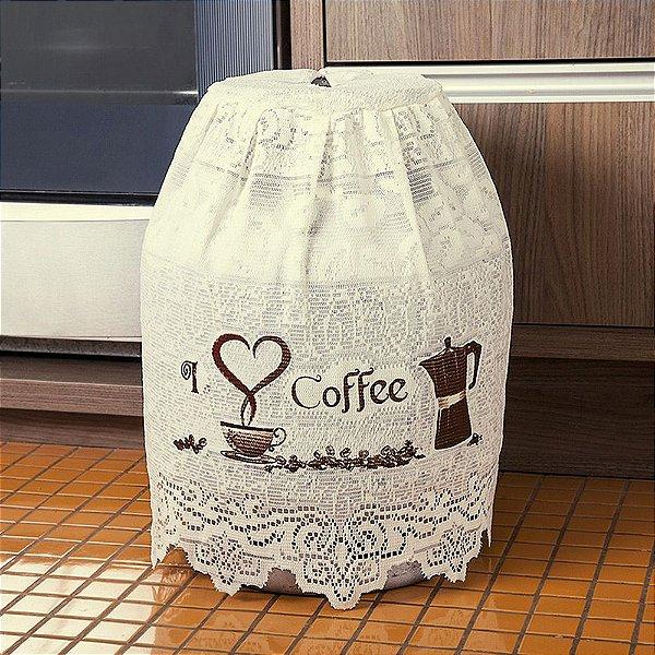 Capa de Botijão - Grãos de Café - Interlar