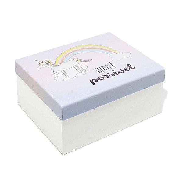 Caixa Organizadora - Unicórnio - Geguton