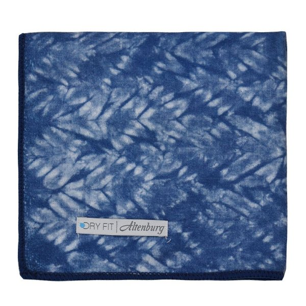 Toalha de Rosto Dry Fit - Azul Texturizada - Altenburg