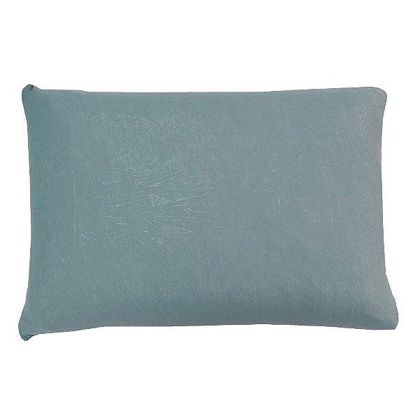 Capa Para Travesseiro Com Zíper - Azul Claro - SulBrasil