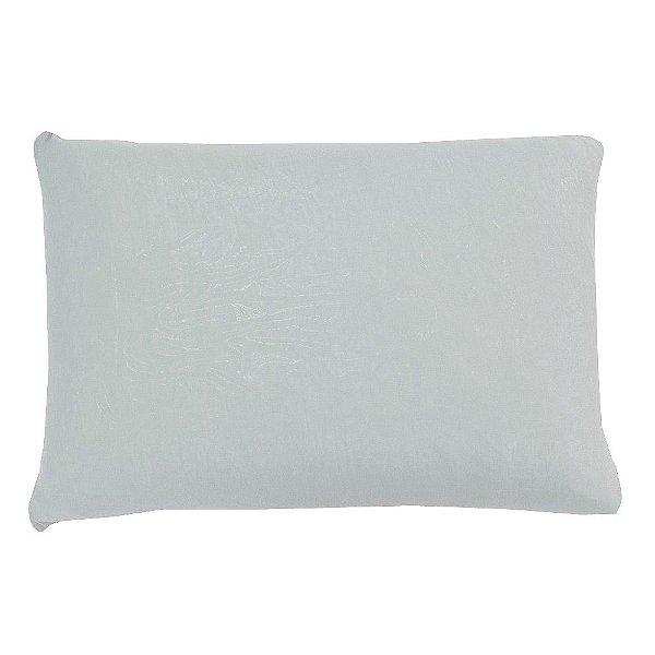 Capa Para Travesseiro Com Zíper - Branca - SulBrasil