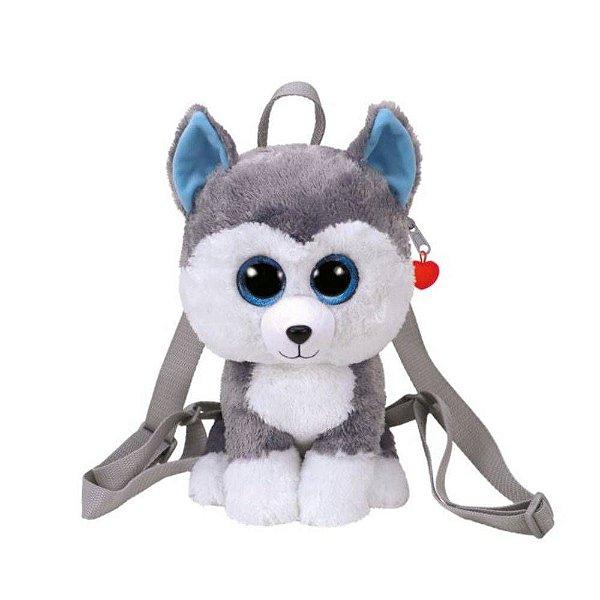 Mochila Infantil Ty - Cachorro Husky Slush - DTC