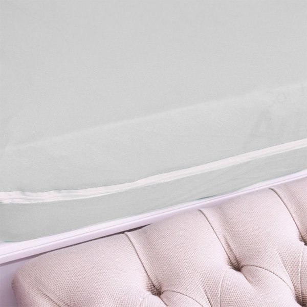 Capa Para Colchão Em Malha Casal - Sonhos & Anjos - Branco - Sulbrasil