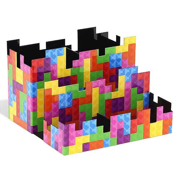 Kit Porta Lápis Pixel - Geguton