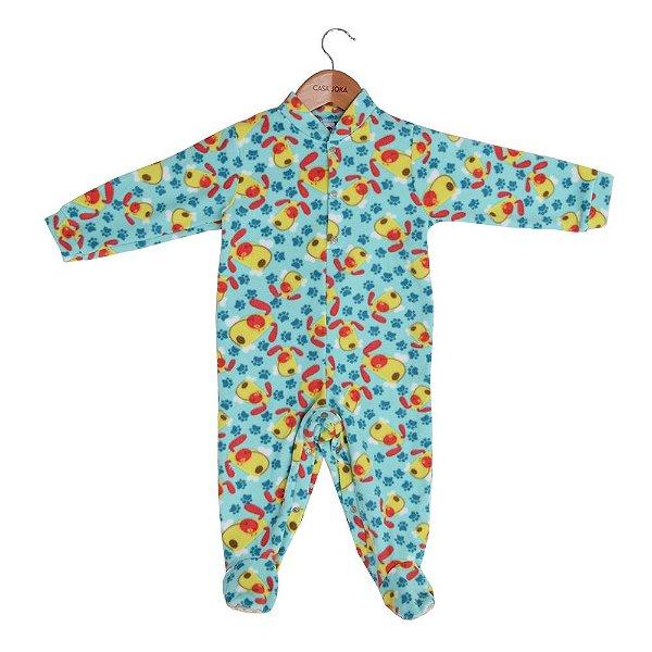 Macacão Pijama Infantil - Cachorrinhos - Tip Top